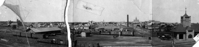 denton rail yard 1903