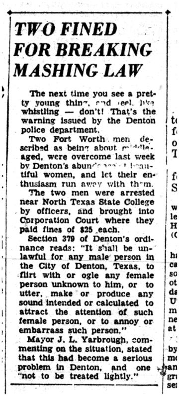 Mashing Law 27 Sep 1948 s1p1